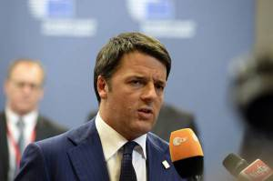Presidente del consiglio Matteo Renzi (AFP PHOTO / THIERRY CHARLIER -Getty images)