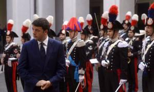 Il presidente del Consiglio Matteo Renzi (AFP PHOTO / FILIPPO MONTEFORTE-Getty images)