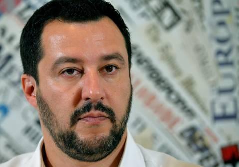 Matteo Salvini (PHOTO/VINCENZO PINTO- Getty images)