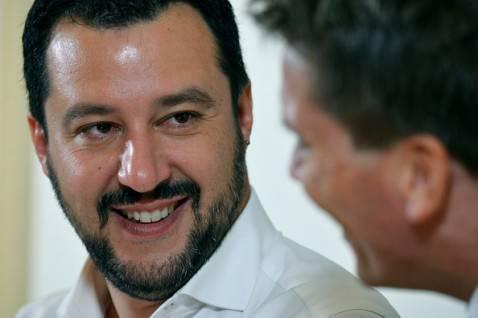 Matteo Salvini, Segretario Lega Nord (VINCENZO PINTO/AFP/Getty Images)