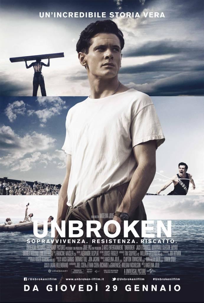 "Il Premio Oscar® Angelina Jolie dirige ""Unbroken"""