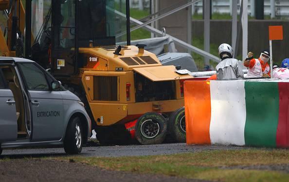 L'incidente di Jules Bianchi (getty images)