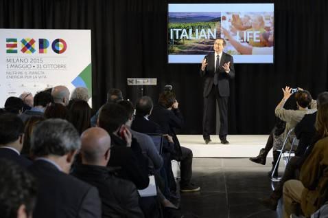 Giuseppe Sala presenta Expo 2015 (OLIVIER MORIN/AFP/Getty Images)