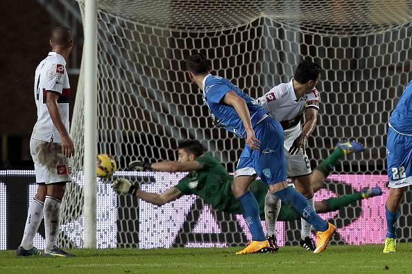 Levan Mchedlidze e il suo gol al Genoa (getty images)