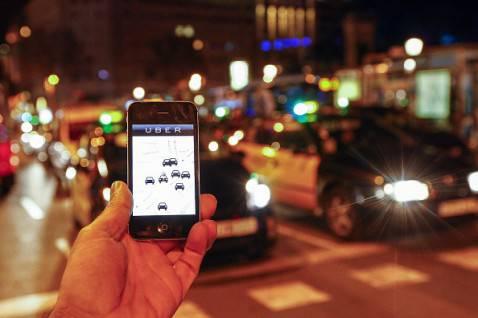 Uber in Spagna (QUIQUE GARCIA/AFP/Getty Images)