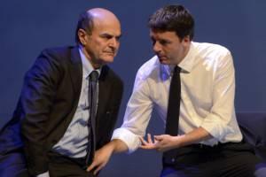 Corsa al Quirinale Bersani Renzi