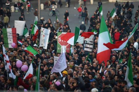 Forconi un anno fa 478x317 Appello dei Forconi: Sabato tutti a Montecitorio