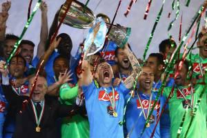L'esultanza del Napoli (Getty Images)