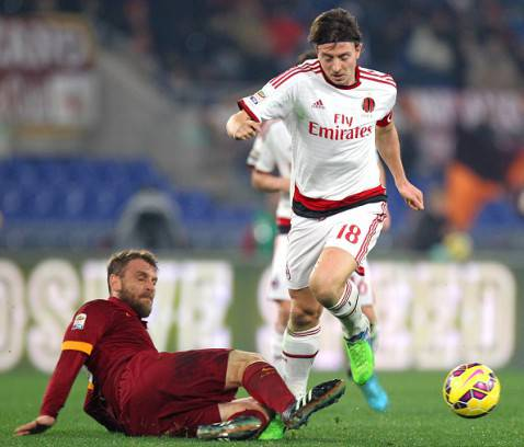 Roma - Milan (Getty Images)