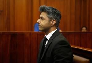 Shrien Dewani durante il processo
