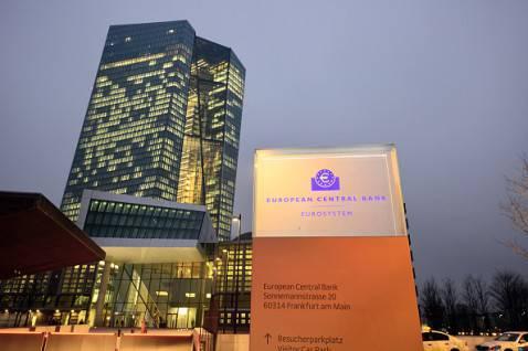 La nuova sede della Banca centrale europea a Francoforte (Thomas Lohnes/Getty Images)