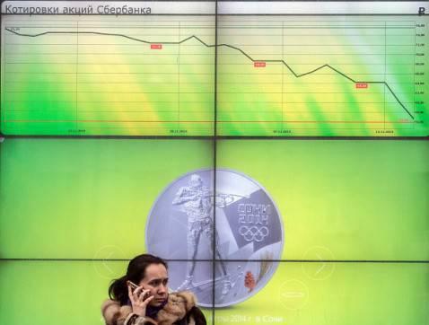 Banca russa Sberbank (DMITRY SEREBRYAKOV/AFP/Getty Images)