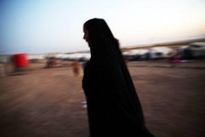 donna musulmana Siria