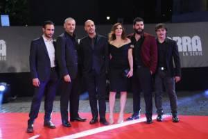 Il cast di Gomorra (getty Images)