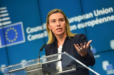 Federica Mogherini Altro Rappresentante Ue politica estera (EMMANUEL DUNAND/AFP/Getty Images)