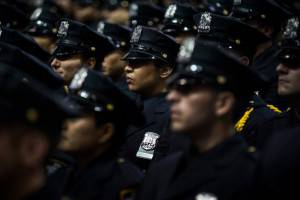 NYPD Cadets Attend Their Graduation