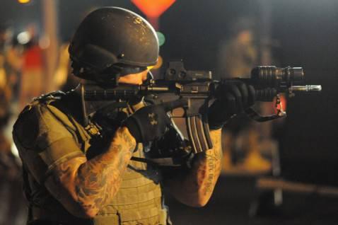 Polizia Usa (Michael B. Thomas/AFP/Getty Images)