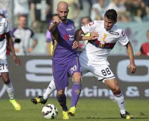 Fiorentina-Genoa dell'andata (getty images)