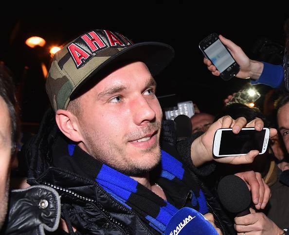 """Inter, ecco le prime parole di Podolski: """"Prometto di…"""""""