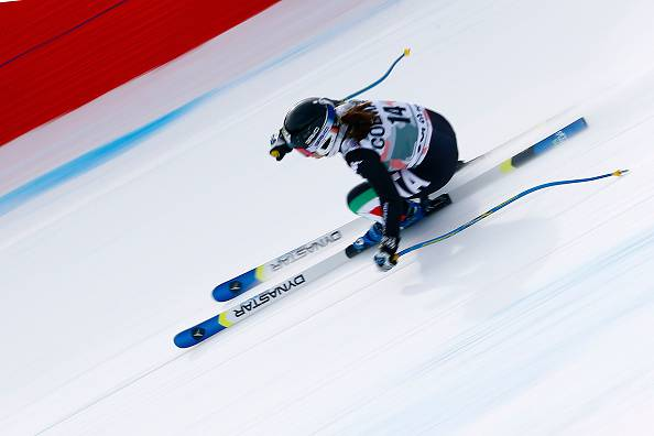 Sci Alpino, Elena Fanchini vince la discesa di Cortina 10 anni dopo la prima