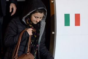 ITALY-SYRIA-CONFLICT-HOSTAGES-FREED