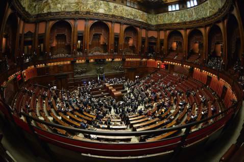 La Camera dei Deputati (ANDREAS SOLARO/AFP/Getty Images)