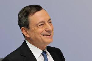 Mario Draghi, presidente Bce (Hannelore Foerster/Getty Images)
