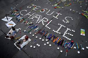 Je suis Charlie (Jeff J. Mitchell/Getty Images)