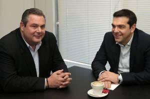 Kammenos, Tsipras