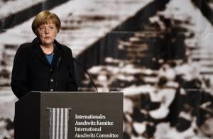 Auschwitz Merkel