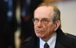 Il ministro dell'Economia Padoan (EMMANUEL DUNAND/AFP/Getty Images)