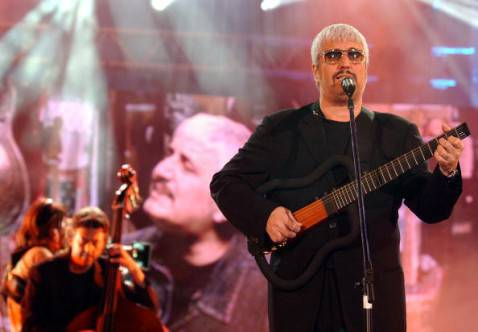 Pino Daniele (Giuseppe Cacace/Getty Images)