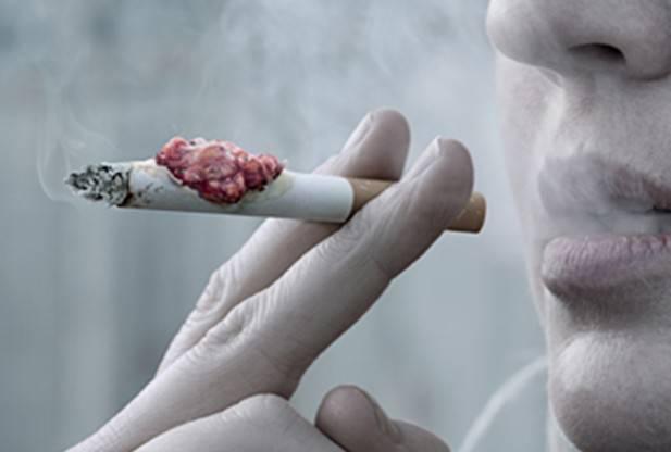 Campagna shock contro sigarette rollate: ecco cosa fanno – VIDEO