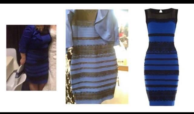 new style cfbf2 6d325 Oro e bianco o nero e blu? Il web sta impazzendo