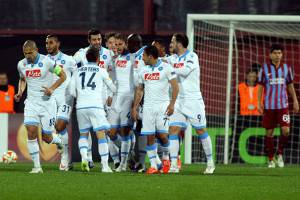 Trabzonspor-Napoli (getty images)