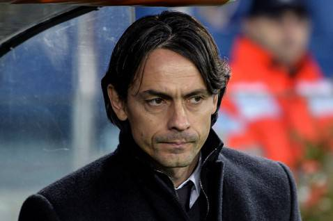 Pippo Inzaghi (Photo credit should read ANDREAS SOLARO/AFP/Getty Images)