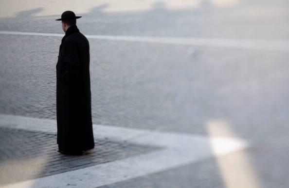 Un prete (Christopher Furlong/Getty Images)