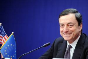 The Governor of the Bank of Italy Mario