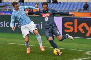 Lazio-Napoli di campionato (getty images)