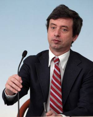 Matteo Renzi Attends His First Council Of Ministers at Palazzo Chigi