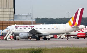 Aereo Germanwings(Photo credit should read STEPHANIE PILICK/AFP/Getty Images)