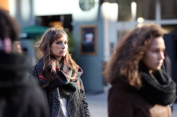 Violenza sulle donne (THOMAS SAMSON/AFP/Getty Images)