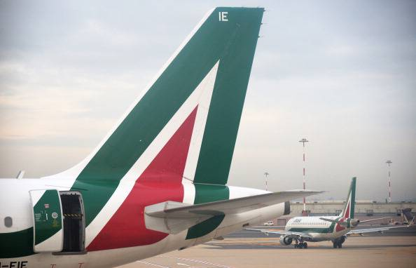 Alitalia (VINCENZO PINTO/AFP/Getty Images)
