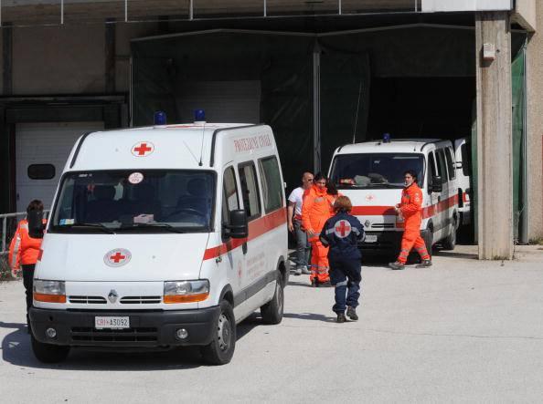 Ambulanze (MARIO LAPORTA/AFP/Getty Images)