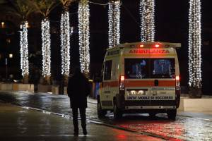 Ambulanza (CARLO HERMANN/AFP/Getty Images)
