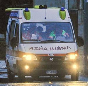 Ambulanza (NUNZIO GIOVE/AFP/Getty Images)