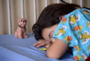 Bimba con la febbre (ORLANDO SIERRA/AFP/Getty Images)