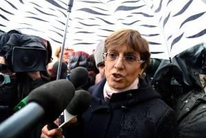 L'avvocato Bongiorno arriva in Cassazione (ALBERTO PIZZOLI/AFP/Getty Images)