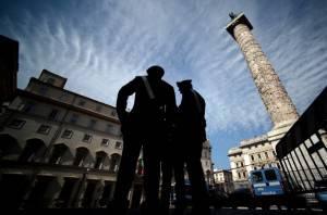 Carabinieri (FILIPPO MONTEFORTE/AFP/Getty Images)