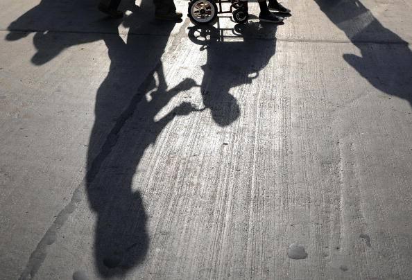 Disabile (INDRANIL MUKHERJEE/AFP/Getty Images)